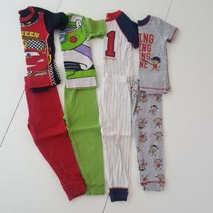 4 sets boys Pajamas